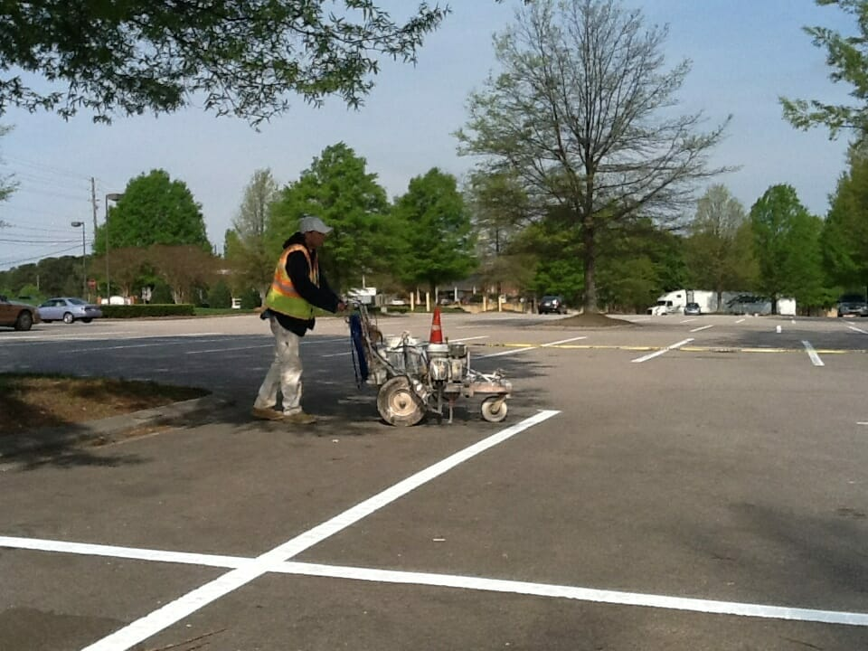 A&K Painting Parking Lot Striping