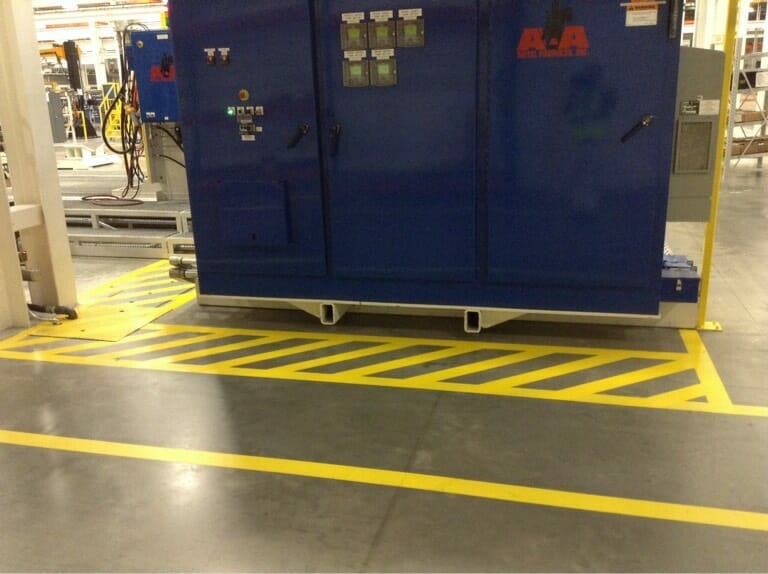 Why Do Your Industrial Facility Floors Need Painted Safety Markings?